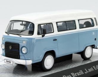 """VOLKSWAGEN T2c Bus Brazil """"Last Edition"""" (2013), light blue / white"""