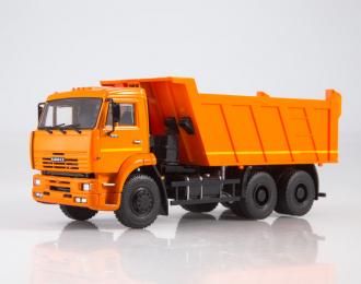 КАМАЗ-6520 самосвал, оранжевый