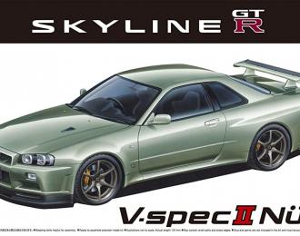 Сборная модель Nissan Skyline GT-R V-specⅡ Nur. 02