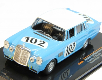 MERCEDES-BENZ 300SE W111 102 R.Crevits-G.Gosselin Winner 24h SPA (1964), blue