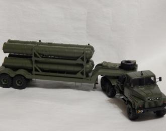 (КИТ) Прицеп 5Т58 ТЗМ с ракетами ЗРК С-400