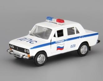ВАЗ 2106 Полиция, белый
