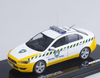 MITSUBISHI Lancer South Africa Police (2009), white