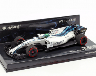 WILLIAMS MARTINI RACING MERCEDES FW40 FELIPE MASSA LAST GP ABU DHABI GP 2017