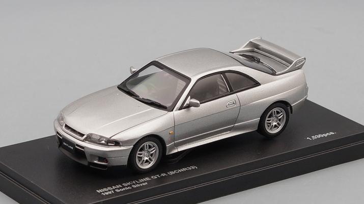 NISSAN Skyline GT-R BCNR33 (1997), sonic silver