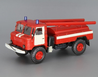 Горький 66 пожарная цистерна, красный / белый