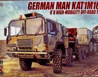 Сборная модель Немецкий военный автомобиль MAN KAT1M1014 8*8