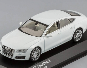 AUDI A7 Gletscher, white metallic