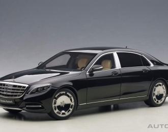 MERCEDES-BENZ Maybach S-Klasse S600 SWB (2015), black