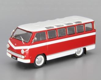 РАФ 977Д ранний, Автолегенды СССР 132, красно-белый