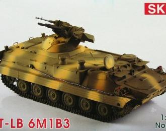 Сборная модель Российский артиллерийский тягач МТ-ЛБ 6М1Б3