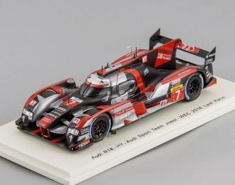 Audi R18 HY #7 2nd 6h of Bahrain 2016 - Last Race M. Fässler - A. Lotterer - B. Tréluyer