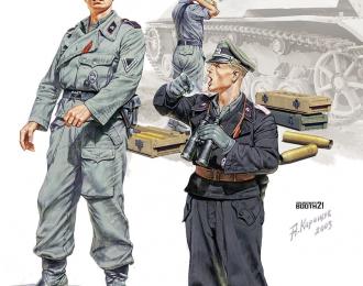 Сборная модель German SPG Crew