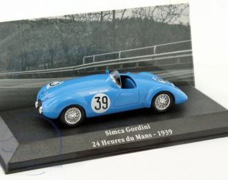 SIMCA 8 Gordini Le Mans #39 (1939), blue