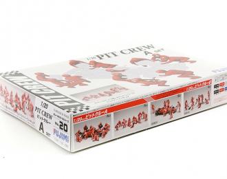 Сборная модель Набор фигурок Формулы-1, команда пит-стоп, 13 фигурок (Pit Crew set A (13 figures))