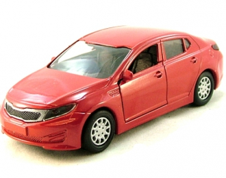 KIA Optima III (K5), red