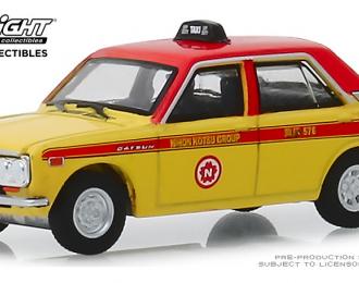 DATSUN 510 4-Door Sedan Custom Taxi1970