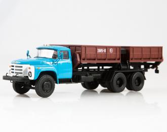Загрузчик машин для внесения минеральных удобрений ЗМУ-8 (133ГЯ), голубой / коричневый