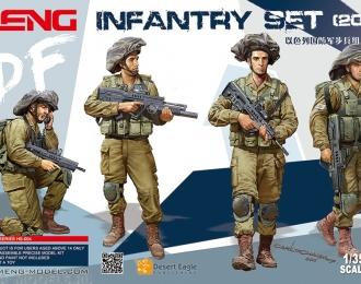 Сборная модель Набор израильской пехоты