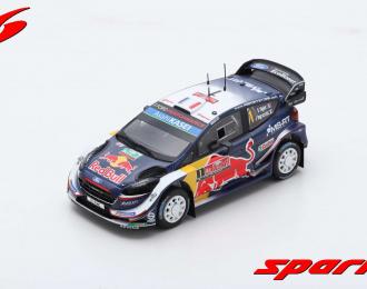 Ford Fiesta WRC #1 Winner Rally Great Britain 2018 S. Ogier - J. Ingrassia