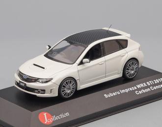 SUBARU Impreza STi Carbon Edition (2010), white