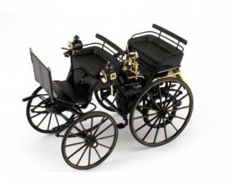 Daimler Motorkutsche (1886), black