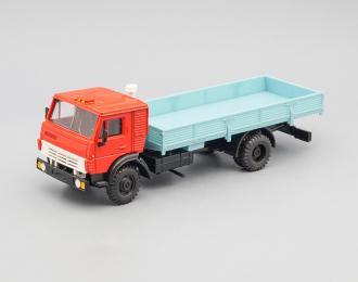 (Уценка!) Камский грузовик 5325 бортовой без тента, красный / голубой