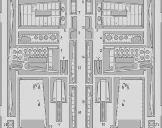 Фототравление для модели A-4F airbrakes