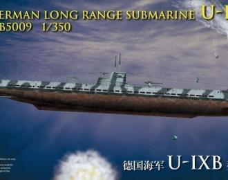 Сборная модель German Long Range Submarine U-IXB