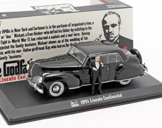 """LINCOLN Continental с фигуркой Дон Вито Корлеоне 1941 (из к/ф """"Крёстный отец"""")"""