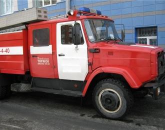 Сборная модель Пожарная цистерна АЦ-2,5-40 (4331)