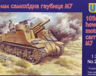 Сборная модель Американская САУ M7 (105-мм)