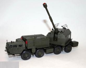 """(КИТ) Береговой мобильный артиллерийский комплекс А-222 """"Берег"""""""