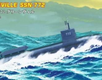 Сборная модель Подводная лодка: USS Navy Greeneville submarine SSN-772