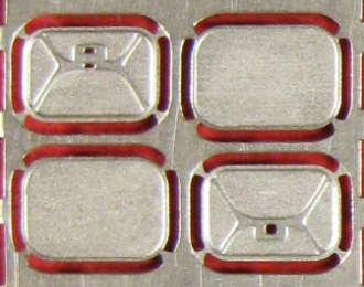 Фототравление Набор зеркал для IKARUS 250.59