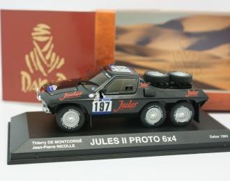 Jules II Proto 6x4 #197 Dakar Thierry De Montcorge Jean-Pierre Nicolle (1984), black