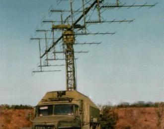 Сборная модель Советская мобильная РЛС П-18