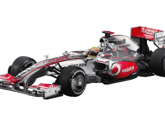MERCEDES-BENZ Vodafone McLaren MP4-24 Hamilton (2009), silver / red