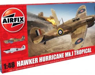 Сборная модель Британский истребитель Hawker HURRICANE Mk.I TROP