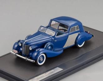 BUICK Series 80 Opera Brougham Fernandez & Darrin (1938), blue