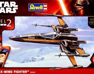 Сборная модель Звездные войны - Poe's X-wing Fighter