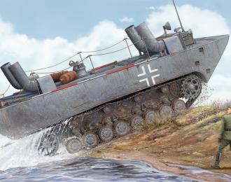 Сборная модель Амфибия German Land-Wasser-Schlepper II-Upgraded