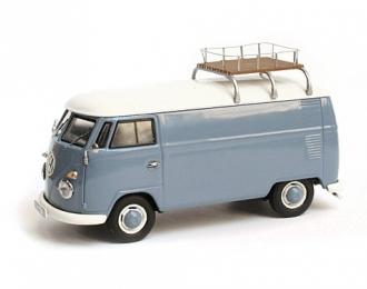 VOLKSWAGEN T1 Box Wagon (фургон с багажником) 1952, синий/белый