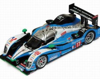 PEUGEOT 908 Hdi-FAP No.17 LMP1 Le Mans J-C.Boullion-S.Pagenaud-B.Treluyer (2009), blue