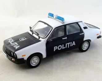DACIA 1310 Полиция Румынии, Полицейские Машины Мира 52, бело-черный