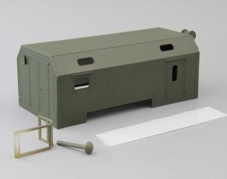 Надстройка Санитарный КУНГ для Камский грузовик, хаки