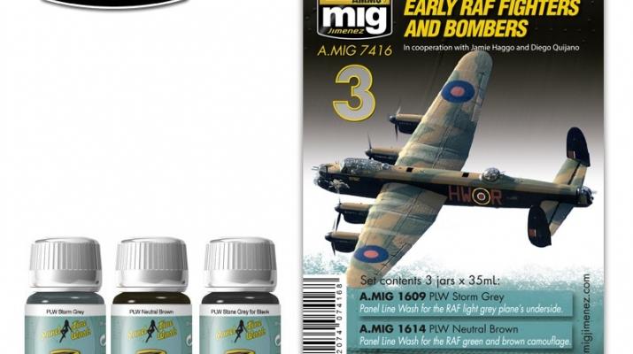 EARLY RAF FIGHTERS AND BOMBERS (Истребители и бомбардировщики RAF)