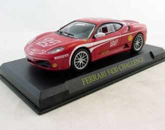 FERRARI F430 Challenge, Ferrari Collection 64, red