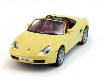 PORSCHE Boxster (1997), yellow