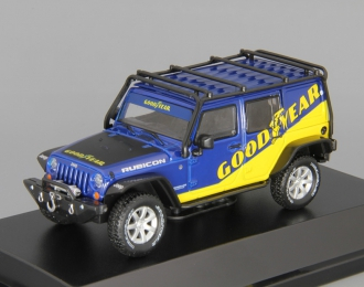 "JEEP Wrangler 4х4 Unlimited ""Goodyear"" 5-dr Hard Top (2016), blue"